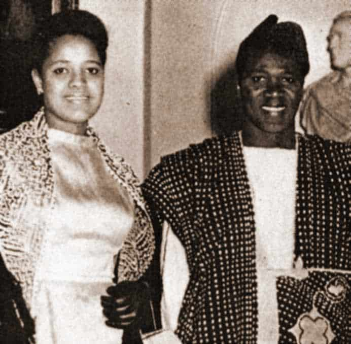 Andree Toure en 1961