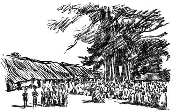Marché de Kankan. 1897